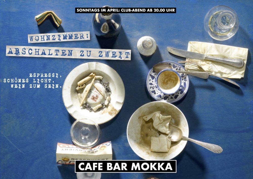WOHNZIMMER ABSCHALTEN ZU ZWEIT CAFE BAR MOKKA
